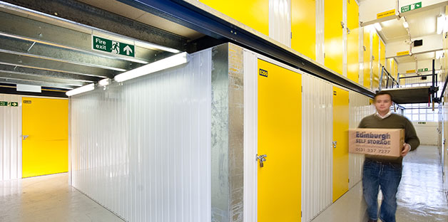 Modern Self Storage Units At Edinburgh Self Storage