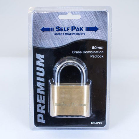 Combination Padlock from Edinburgh Self Storage