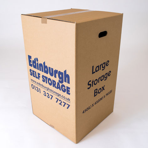 Large Box from Edinburgh Self Storage