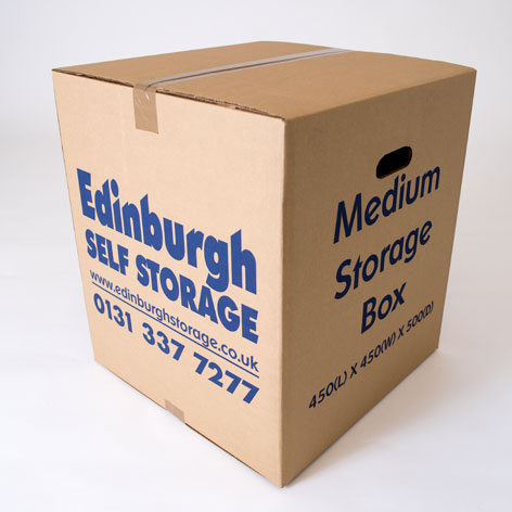 Medium Sized Box from Edinburgh Self Storage