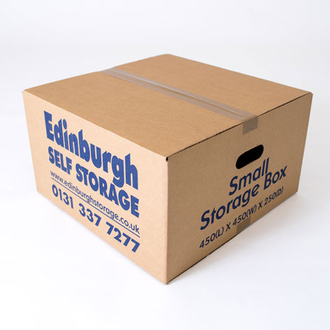 Small Cardboard Box from Edinburgh Self Storage