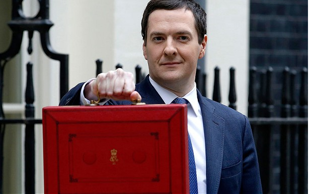 Chancellor Presenting Budget to Parliament