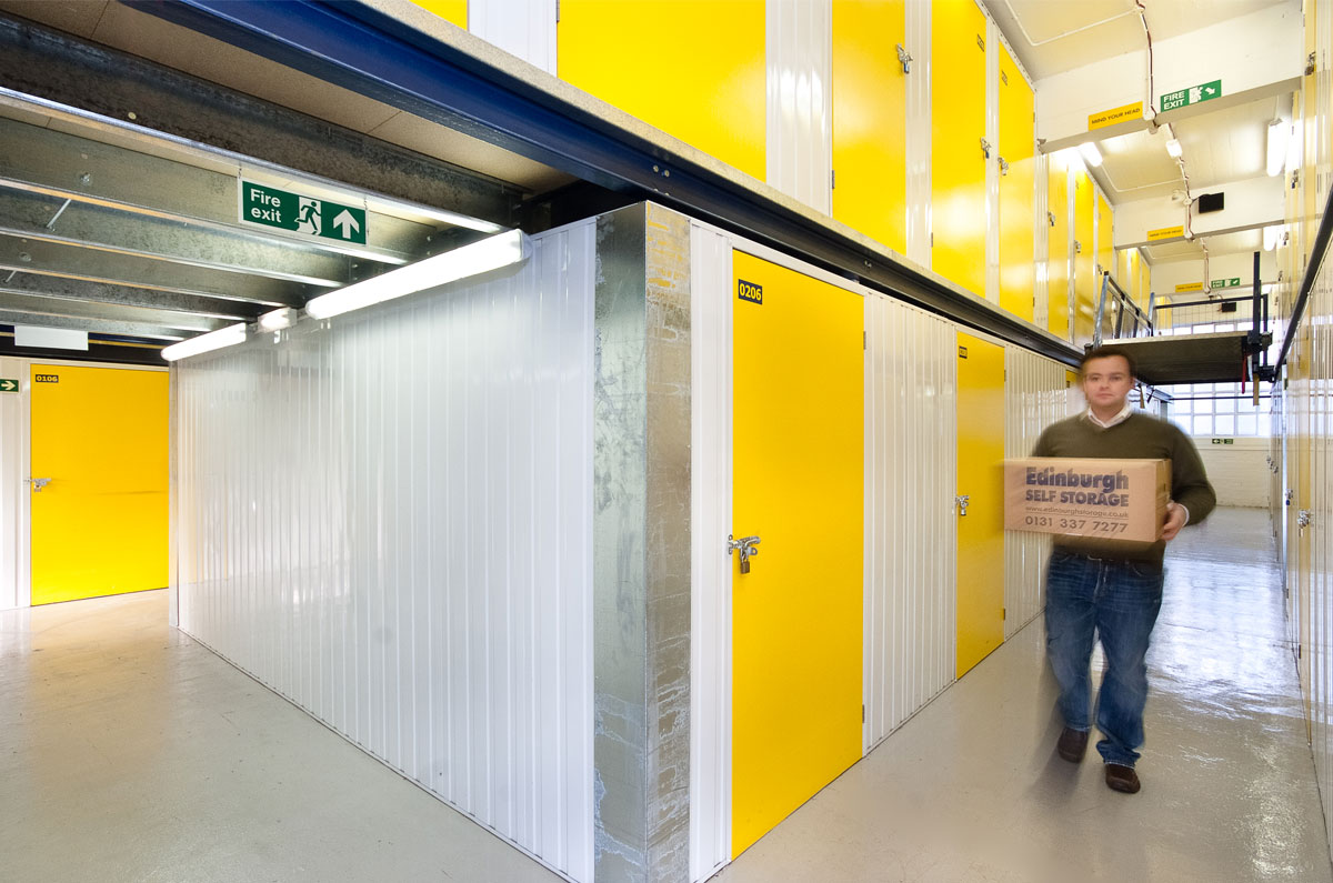 Modern Self Storage In Edinburgh