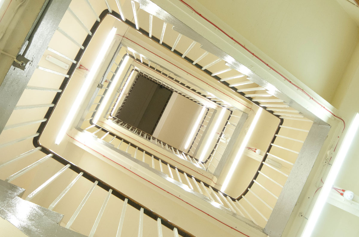 Internal Stairs – Jenners Depository