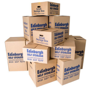 Moving Pack Boxes From Edinburgh Self Storage